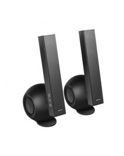 Edifier e10BT Exclaim Connect Speaker type 2.0, 3.5mm/Bluetooth, Black/grey, 36 W