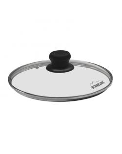 Stoneline Glass lid 11837 Lid, Diameter 26 cm, Transparent
