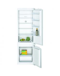 Bosch Serie 2 Refrigerator KIV87NFF0 F, Built-in, Combi, Height 177 cm, Fridge net capacity 200 L, Freezer net capacity 70 L, 39