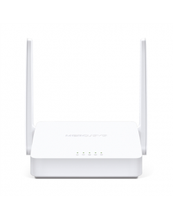 Mercusys Wireless N ADSL2+ Modem Router MW300D 802.11n, 300 Mbit/s, 10/100 Mbit/s, Ethernet LAN (RJ-45) ports 3, Antenna type 2×