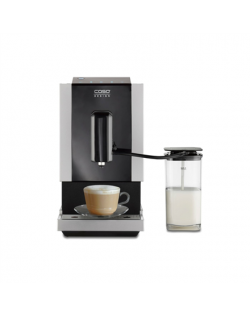 Caso Coffee Machine Café Crema Touch Pump pressure 19 bar, Built-in milk frother, Fully Automatic, 1470 W, Black/Stainless steel