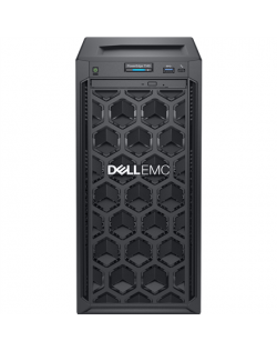 """Dell PowerEdge T40 Tower, Intel Xeon, E-2224G, 3.5 GHz, 8 MB, 4T, 4C, 8 GB, UDIMM DDR4, 2666 MHz, 1000 GB, Up to 3 x 3.5"""", No OS"""