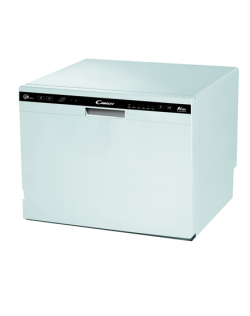 Candy Dishwasher CDCP 8 Free standing, Width 55 cm, Number of place settings 8, A+, White