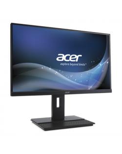 """Acer B6 B276HKBymjdpprzx 27"""" IPS/3840x2160/16:9/5ms/300/100M:1/HDMI,DisplayPort,USB Hub/Darkgrey"""