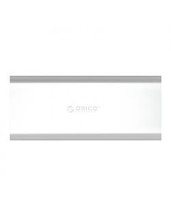 Orico Aluminum Alloy M.2 to Micro B High-speed SSD Enclosure M2G-U3-SV-BP SATA Revision 3.0 M.2 B-Key, Portable SSD Case, USB 3.