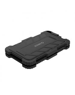 Orico Triple Protection Hard Drive Enclosure With Hook 2719U3-G-BK-BP SATA III, USB 3.0 Type-A, 7-9.5 mm