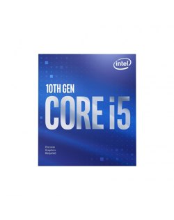 Intel i5-10400F, 2.9 GHz, LGA1200, Processor threads 12, Packing Retail, Processor cores 6, Component for Desktop