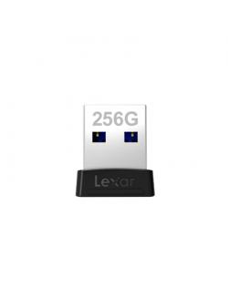 Lexar Flash Drive JumpDrive S47 256 GB, USB 3.1, Black/Silver
