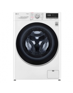 LG Washing machine with steam function F4WN409S0 A+++ -30%, Front loading, Washing capacity 9 kg, 1400 RPM, Depth 56.5 cm, Width