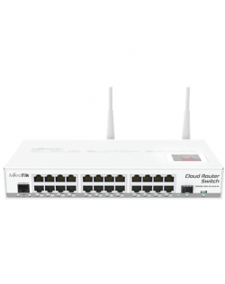 MikroTik Cloud Router Switch CRS125-24G-1S-2HND-IN Managed, Rack mountable, 1 Gbps (RJ-45) ports quantity 24, SFP ports quantity