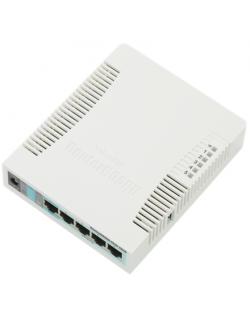 MikroTik Access Point RB951G-2HND 802.11n, 867 Mbit/s, 10/100/1000 Mbit/s, Ethernet LAN (RJ-45) ports 5, MU-MiMO Yes, Antenna ty