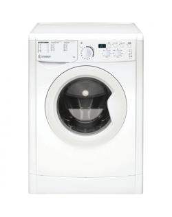 INDESIT Washing machine EWUD 41051 W EU N A +, Front loading, Washing capacity 4 kg, 1000 RPM, Depth 32.3 cm, Width 59.5 cm, Dis