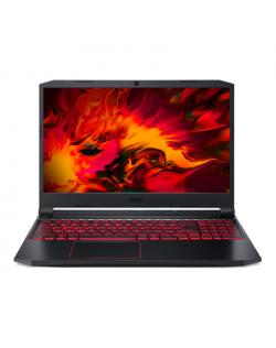 """Acer Nitro 5 AN515-44-R94X Black/Red, 15.6 """", IPS, FHD, 1920 x 1080 pixels, Matt, AMD, Ryzen 5 4600H, 8 GB, DDR4 RAM, SSD 512 GB, NVIDIA GeForce GTX 1650 Ti, GDDR6 VRAM, 4 GB, No ODD, Linux (eShell), 802.11ax/ac/a/b/g/n, Bluetooth version 5.0, Keyboard language English, Keyboard backlit, Warranty 24 month(s), Battery warranty 12 month(s)"""