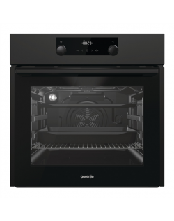Gorenje Oven BOS737E301B 71 L, Electric, AquaClean, Steam function, Height 59.5 cm, Width 59.7 cm, Black
