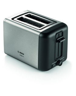 Bosch Toaster DesignLine TAT5P420 Power 970 W, Number of slots 2, Housing material Stainless steel, Stainless steel