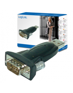Logilink USB 2.0 to Serial Adapter: RS232, USB