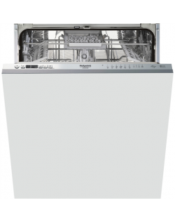 Hotpoint Dishwasher HIC 3C41 CW Built-in, Width 59.8 cm, Number of place settings 14, Number of programs 6, A +++, Display, Silv