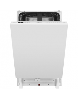 Hotpoint Dishwasher HSIC 3T127 C Built-in, Width 44.8 cm, Number of place settings 10, Number of programs 9, A ++, Display, Silv
