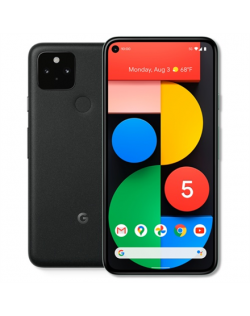 "google Pixel 5 5G Just Black, 6.0 "", OLED, 1080 x 2340 pixels, Qualcomm Snapdragon 765G, Internal RAM 8 GB, 128 GB, Single SIM, Nano-SIM card and eSIM, 3G, 4G, 5G, Main camera 16+12.2 MP, Secondary camera 8 MP, Android, 11, 4080 mAh"