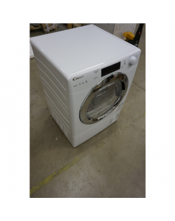 SALE OUT. Candy Dryer Mashine GVS H9A2TCE-S Energy efficiency class A++, Condensed, 9 kg, Heat pump, LED, Depth 59.5 cm, White,