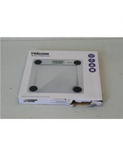 SALE OUT. Tristar Bathroom scale WG-2421 Maximum weight (capacity) 150 kg, Accuracy 100 g, White, DAMAGED PACKAGING