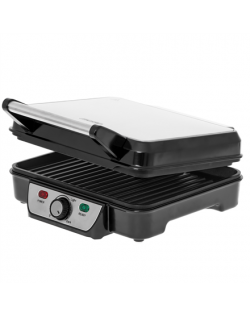 Mesko Grill MS 3050 Contact grill, 1800 W, Black/Stainless steel