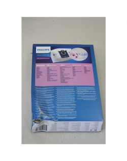 Philips disposable dust bag FC8027 Number of bags 3, Dust bag capacity 5 L, DAMAGED PACKAGING
