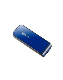 APACER USB2.0 Flash Drive AH334 16GB Blue RP