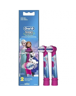 Oral-B Frozen EB-10 Warranty 24 month(s), For kids, Heads, Number of brush heads included 2