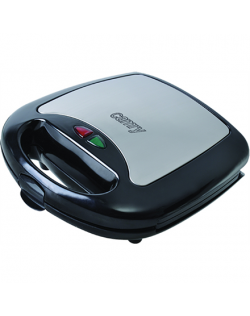 Camry Sandwich maker CR 3024 730 W, Number of plates 3, Number of pastry 2, Black