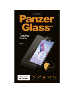 PanzerGlass 5298 Screen protector, Huawei, P20 Lite, Tempered glass, Transparent/Black