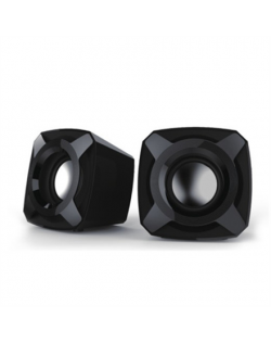 Microlab B 16 Speaker type 2.0, 3.5mm, Black, 5 W