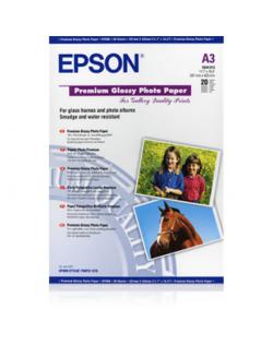 Epson Premium Glossy Photo Paper A3, 250g/m2, 20 sheets