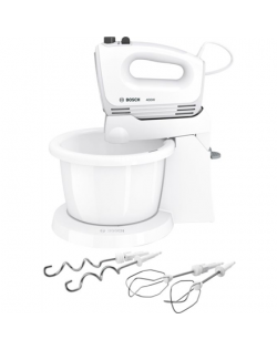 Bosch MFQ2600X Mixer with bowl, 400 W, Number of speeds 4, Blade material Stainless steel, White