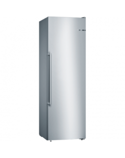 Bosch Freezer GSN36AIEP Energy efficiency class E, Free standing, Upright, Height 186 cm, No Frost system, Display, 39 dB, Stain