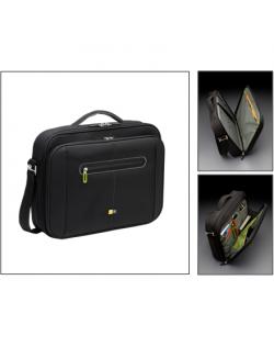 """Case Logic PNC218 Fits up to size 18 """", Black/Green, Shoulder strap, Messenger - Briefcase"""
