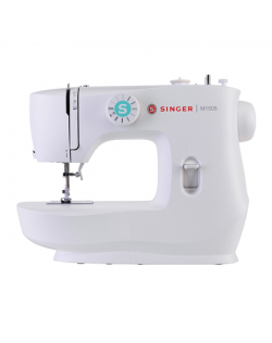 Singer Sewing Machine M1505 Number of stitches 6, Number of buttonholes 1, White