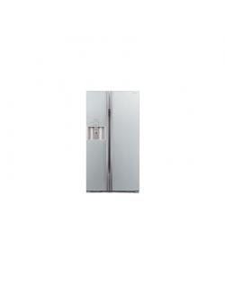 Hitachi Refrigerator R-S700GPRU2 (GS) A++, Free standing, Side by Side, Aukštis 177.5 cm, Bešerkšnė sistema, Šaldytuvo talpa net