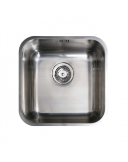 CATA Sink CB 40-40 Undermount, Square, Number of bowls 1, Stainless steel, Stainless steel