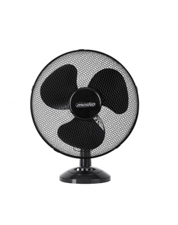Mesko Fan MS 7308 Table Fan, Number of speeds 2, 30 W, Oscillation, Diameter 23 cm, Black