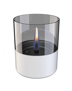 Tenderflame Table burner Lilly 1W Glass Diameter 10 cm, 12 cm, 200 ml, 7 hours, White