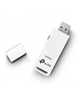 TP-LINK USB 2.0 Adapter TL-WN821N 2.4GHz, 802.11n, 300 Mbps, Internal antenna