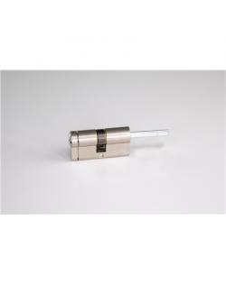 SALTO Danalock DCE3 Euro profile mechanical cylinder Nickel 50-30 mm, For SmartLock