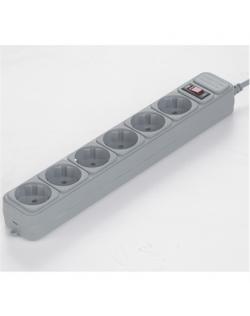 Gembird SPG6-B-6C Sockets quantity 6, Surge protector