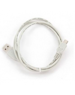 Cablexpert CC-USB2-AM5P-3 USB A, Mini-USB B, 0.9 m, White