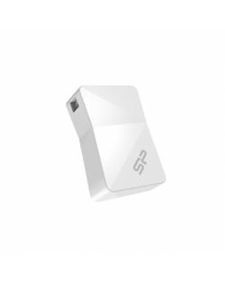 Silicon Power Touch T08 16 GB, USB 2.0, White