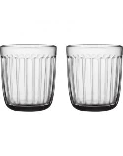 IITTALA Raami Water Glasses, 0,26l, 2 pcs, Clear