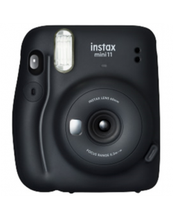 Fujifilm Instax Mini 11 Camera Focus 0.3 m - ∞, Charcoal Gray