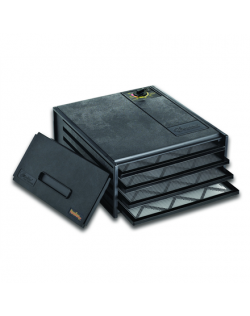 Food dryer Excalibur 4400 Black, 220 W, Number of trays 4, Temperature control