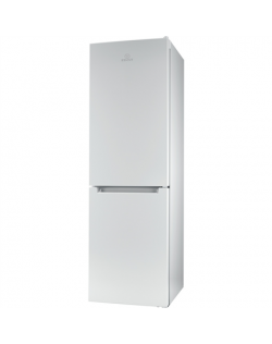INDESIT Refrigerator LI8 S1E W Energy efficiency class F, Free standing, Combi, Height 188.9 cm, Fridge net capacity 228 L, Free